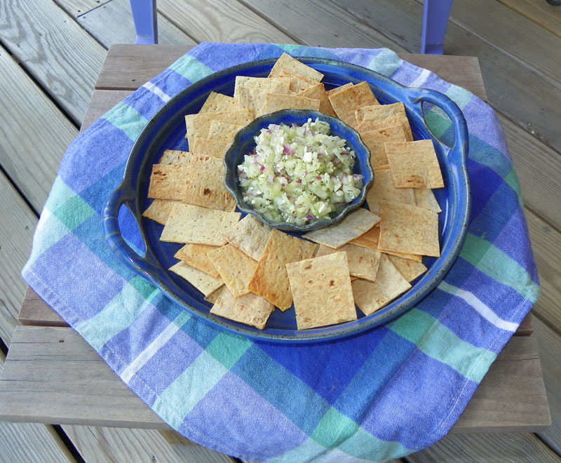 Our Favorite Summer Salsa and Chips