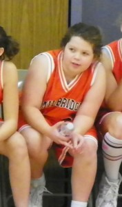 Hannah at Basketball 2010
