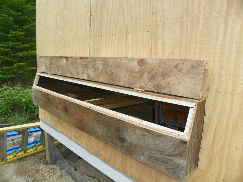 Nadek Get Building A Chicken Coop In A Garage
