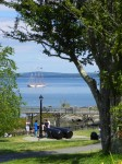 The Margaret Todd Leaving Bar Harbor