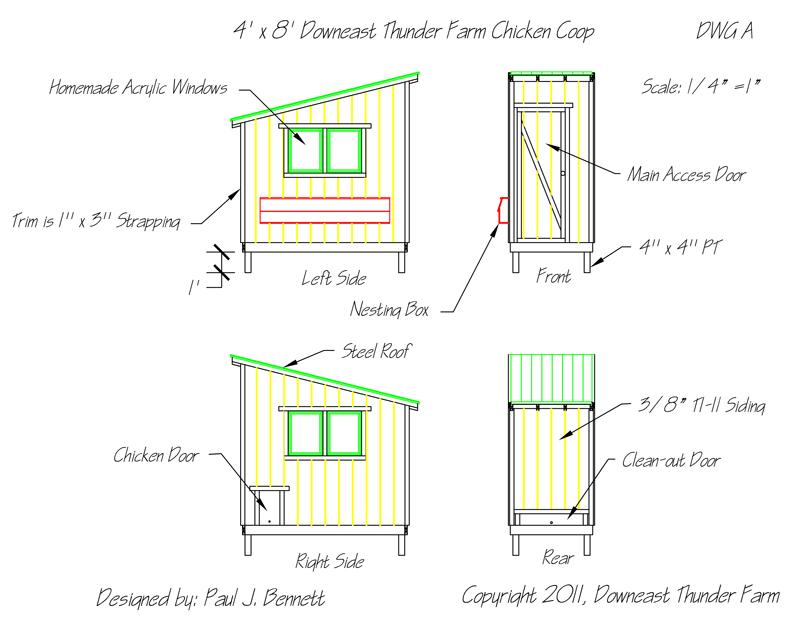 chicken coop | downeast thunder farm