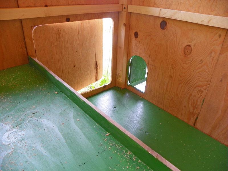 Coop door and chicken door & Banty B and B Chicken Coop Plans | Downeast Thunder Farm Pezcame.Com