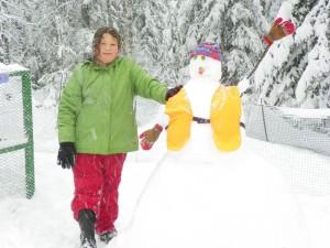 hannah's snowman
