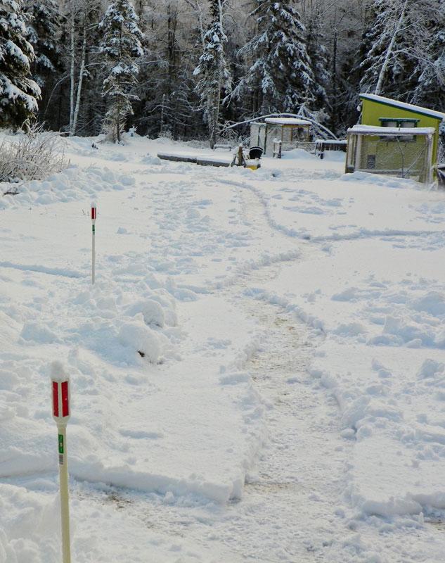 Christmas Day Snow