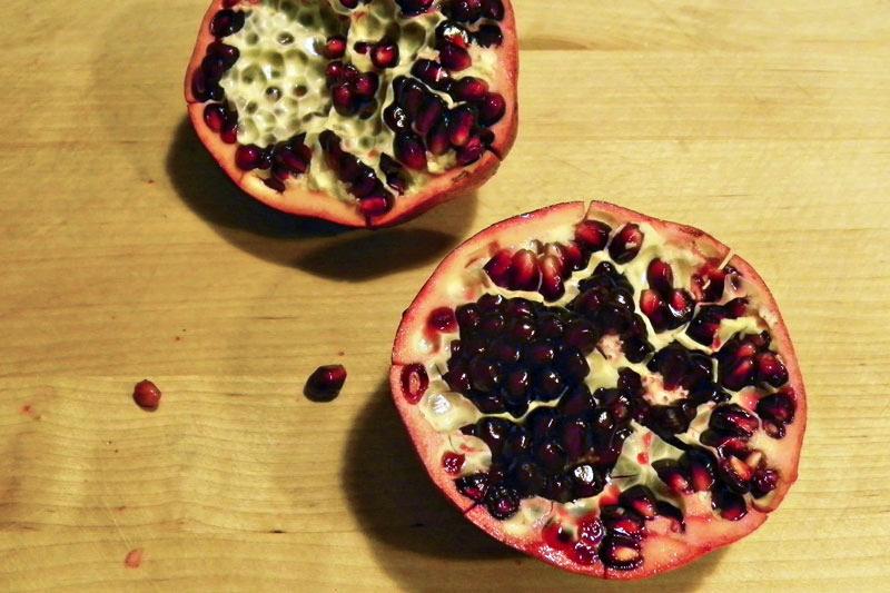 De-Seeding a Pomegranate
