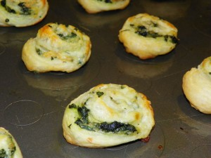 Spinach Pin Wheels
