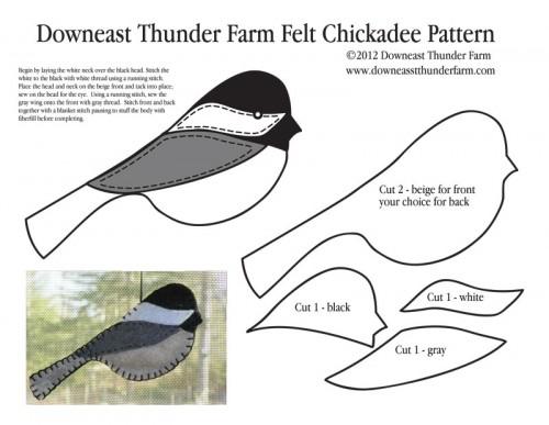 Felt Bird Pattern Patterns Gallery