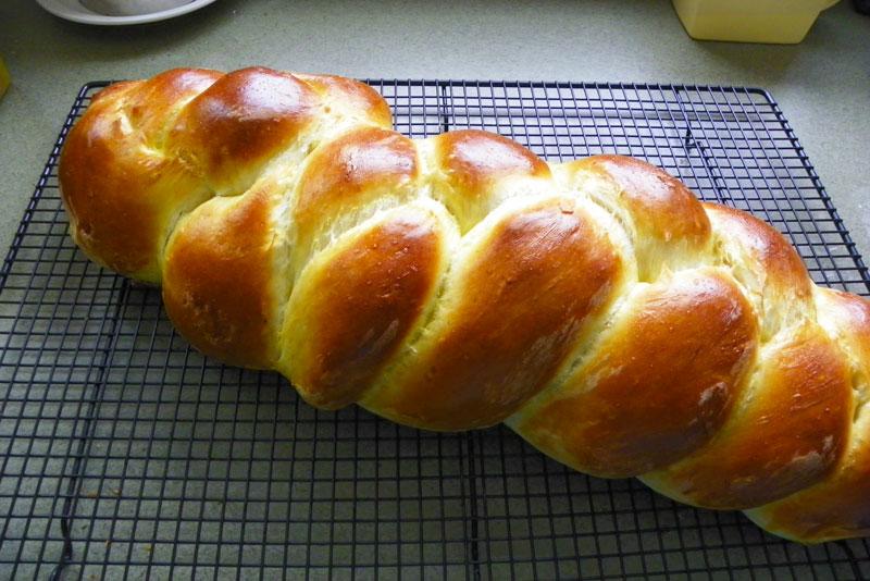 Baking Egg Bread