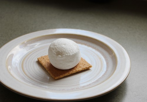 metl your marshmallow in the microwave