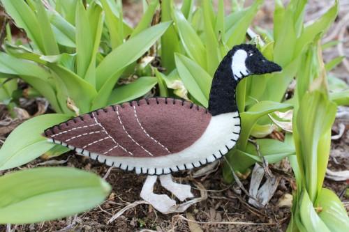 Canada Goose Felt Ornament