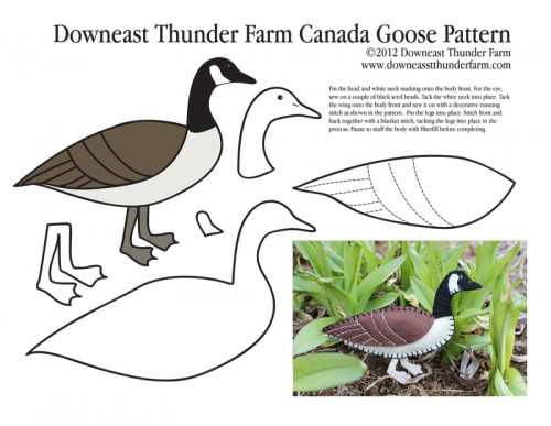 Canada Goose Pattern