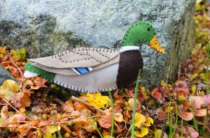 Mallard Duck Felt Ornament