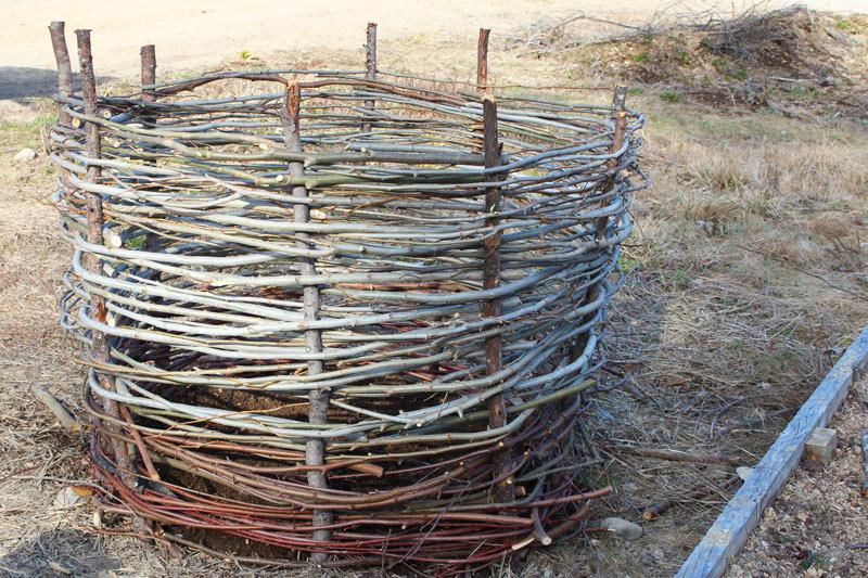 Woven Potato Basket