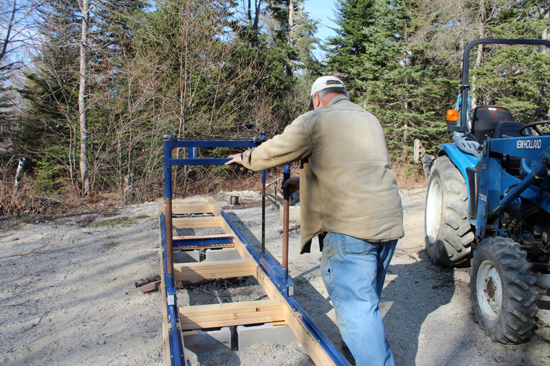 Milling Our Own Lumber | Downeast Thunder Farm