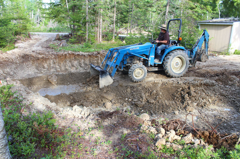 The History of the Downeast Thunder Farm Pond