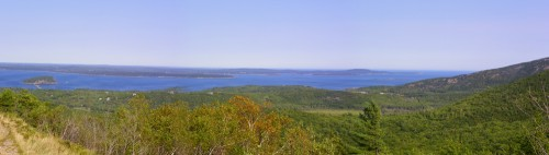Bald Porcupine Island to Schoodic Point Cadillac Mountaint