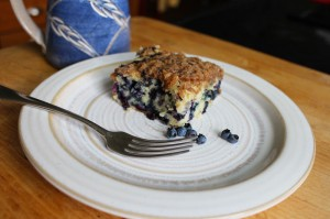 Downeast Thunder Farm Blueberry Coffee Cake
