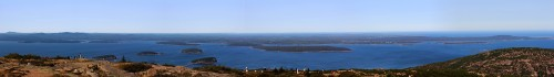 Easterly view from the top of Cadillac Mountain