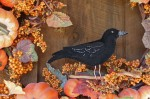 Crow Felt Ornament