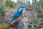 Common Kingfisher Felt Ornament