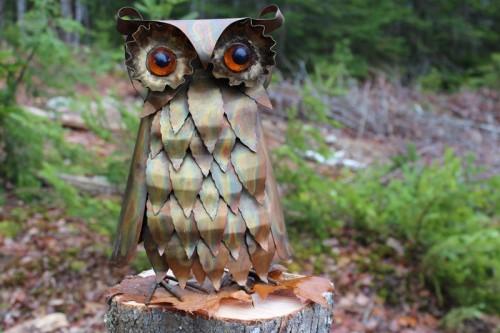 Metal Owl