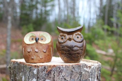 Salt and Pepper Shaker Owls