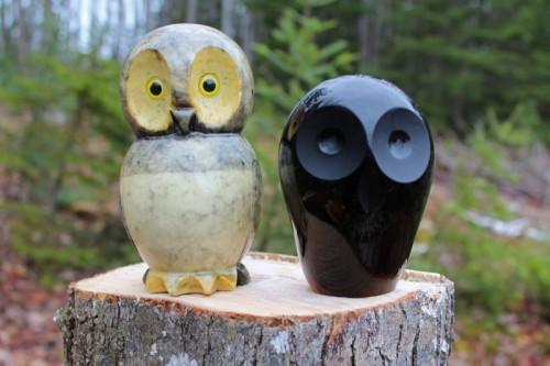 Paper Weight Owls