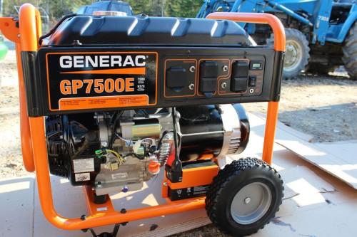 Generac 7500 Watt Electric Start Generator