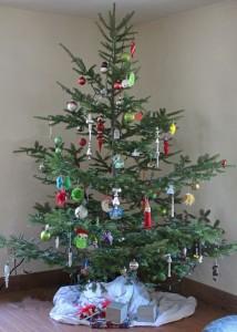 our free range organic Christmas tree
