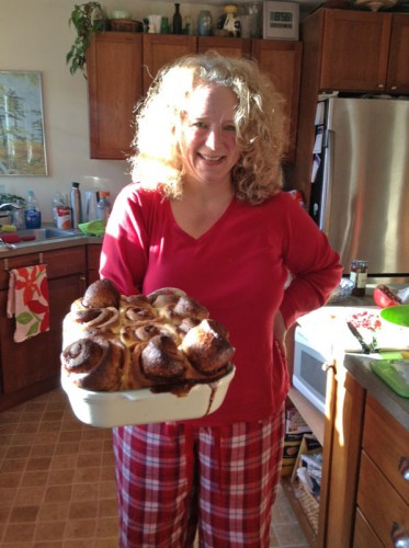 Susan's not quite perfect cinnamon rolls