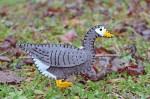 Pilgrim Goose Felt Ornament