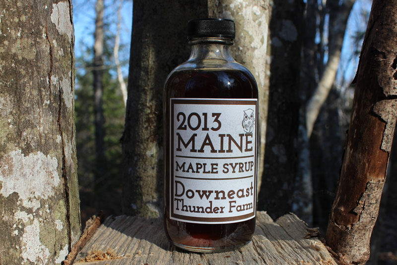 2013 Maple Syrup Packaging