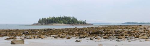 sandy river beach