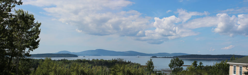 View of Mount Desert Island