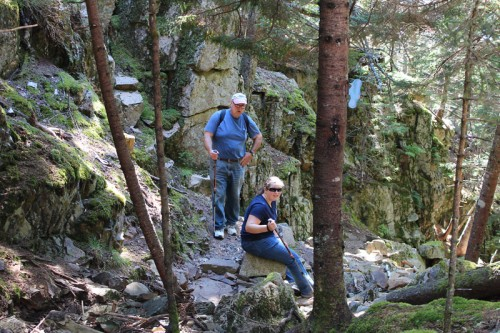 Hiking the Schoodic Head Trail