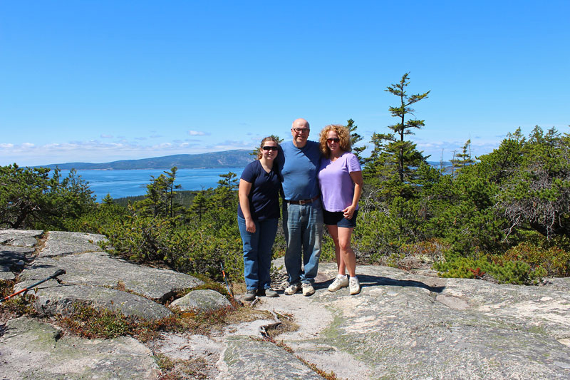Hike to Schoodic Head