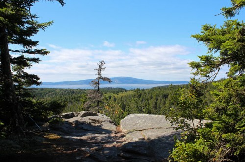 Cadillac Mountain from the Anvil Trail