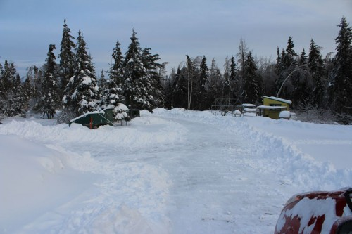 long driveway to shovel