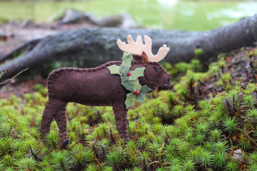 maine moose pattern