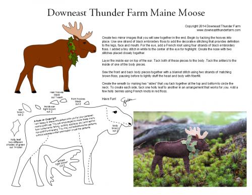 moose pdf pattern