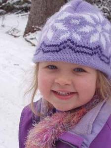 Hannah at age 5