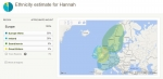 dna ethnicity estimates