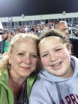 Hannah and Susan at Seadogs Game