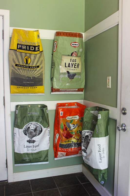 Recycling with Recycled Feed Bags