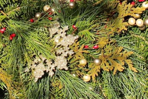 wreath closeup