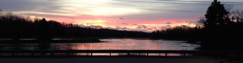 A Winter's Solstice Sunrise