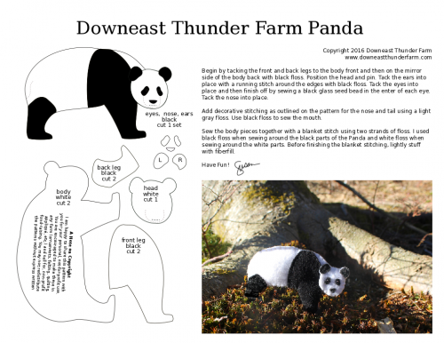 PDF Panda Pattern