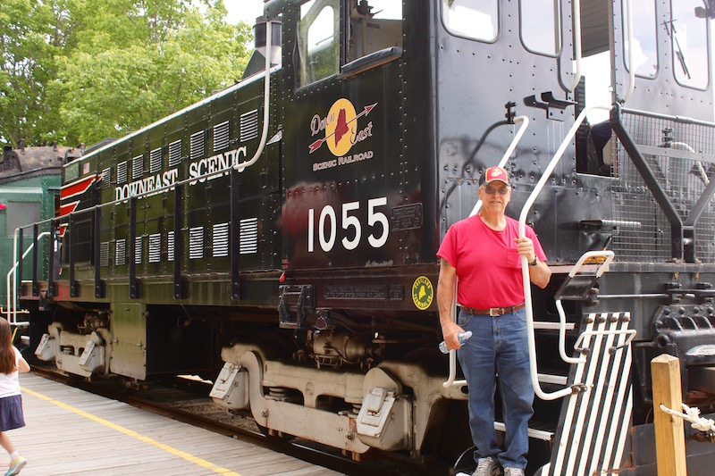 A Ride on the Downeast Scenic Railroad