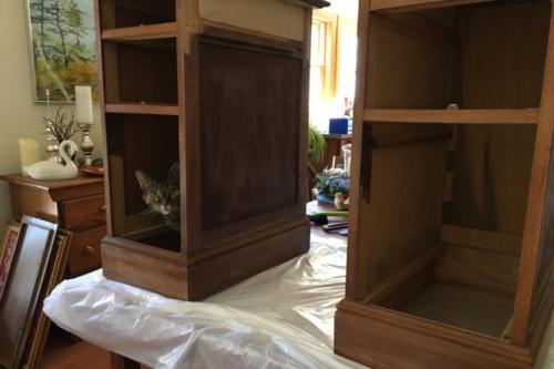 desk in progress