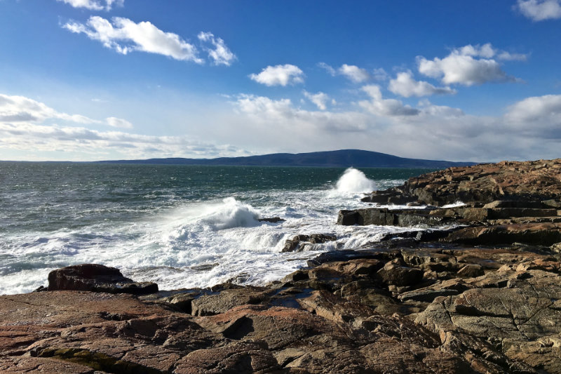 The Surf at Schoodic Point